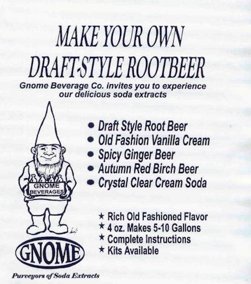 Gnome Soft Drink Extracts
