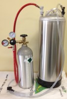 Basic Homebrew Draft System w/New 5 Gallon Canister